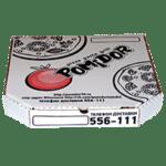 изготовление коробок для пиццы с логотипом
