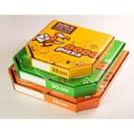 коробки для пиццы с логотипом на заказ