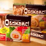 коробки торта с логотипом