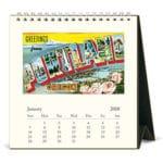 календарь домик перекидной