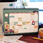 календарь домик вертикальный