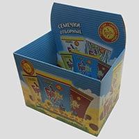 картонная коробка для чеков