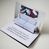 поп ап объемные открытки