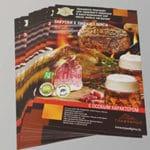 визитки листовки печать в сао